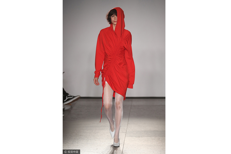 2017 New York fashion week: Calvin Luo .cn