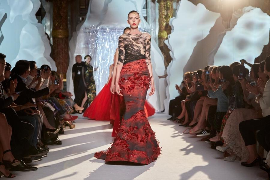 Top Designer Presents Shanshui Creations At Paris Week World Chinadaily Com Cn