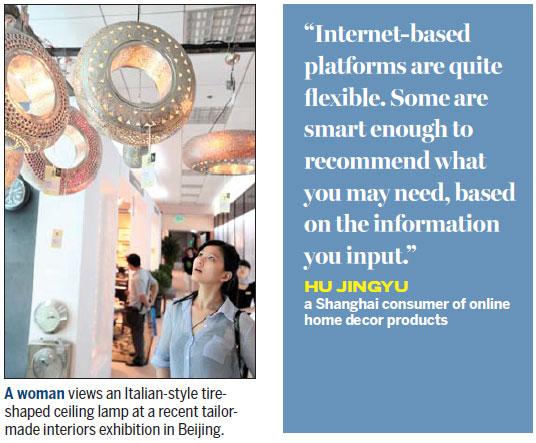 Home Decor Goes Diy Online Chinadaily Com Cn