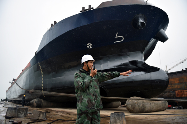 China leads in shipbuilding - Chinadaily com cn