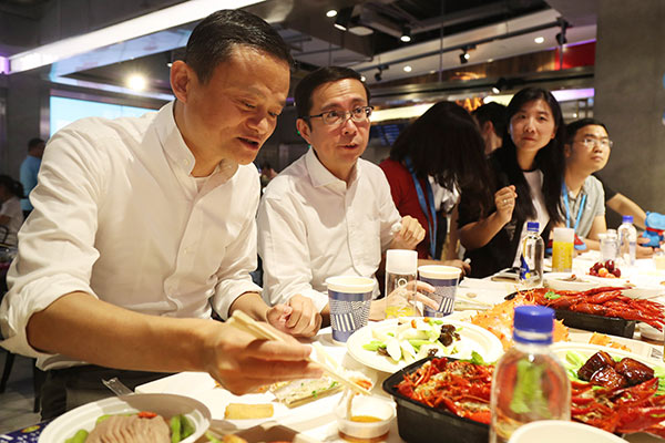 Alibaba opening more fresh food stores - Chinadaily com cn