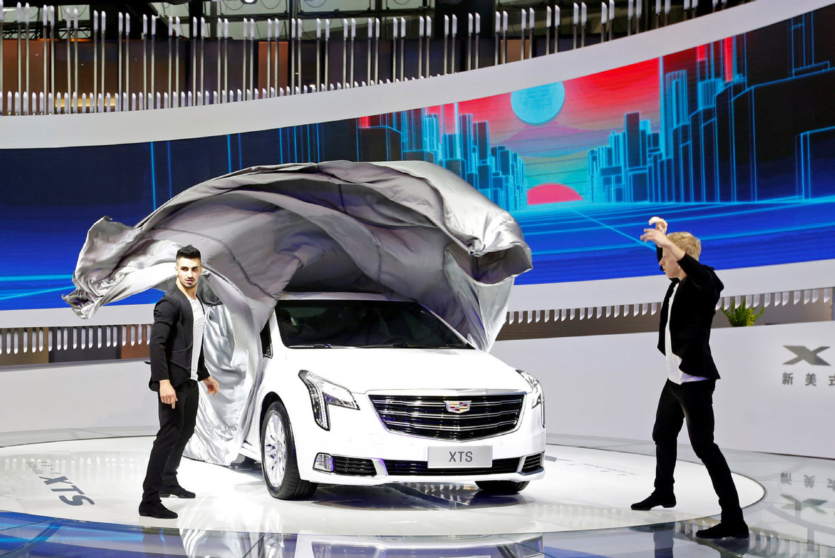 China Becomes Largest Market For GMs Cadillac USA Chinadailycomcn - Borgata car show