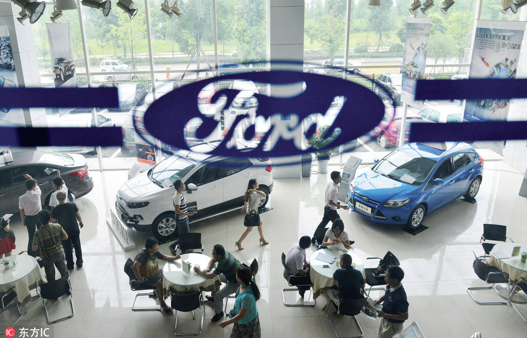 Car sales hit record in 2017; 25% sold in China - World - Chinadaily ...