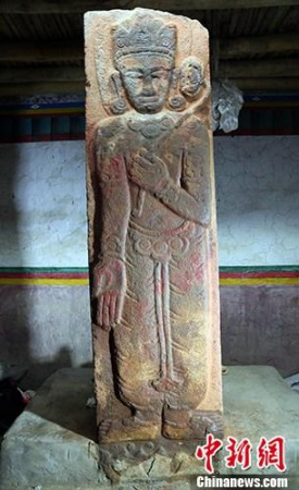 Oldest buddhist stele discovered in Tibet - Chinadaily com cn
