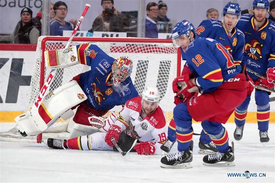 Helsinki Jokerit Beat Kunlun Red Star 3 1 In Khl Game Chinadaily