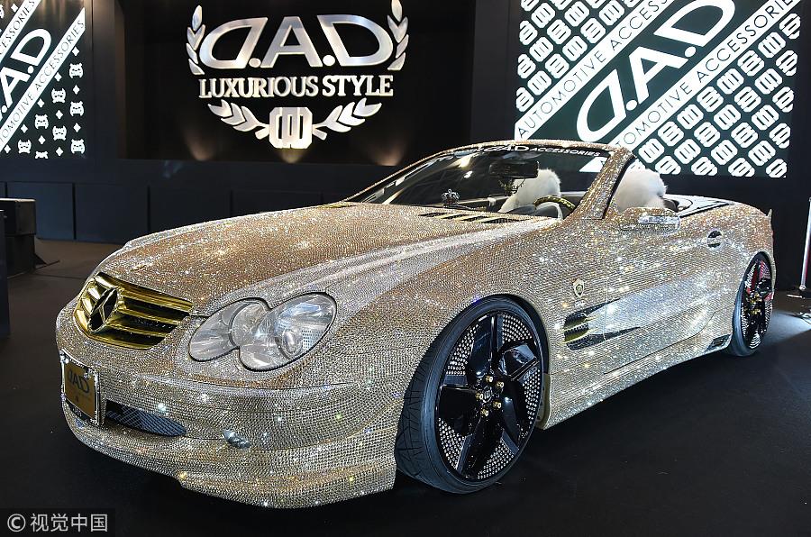 Custom cars dazzle at Tokyo Auto Salon - Chinadaily.com.cn