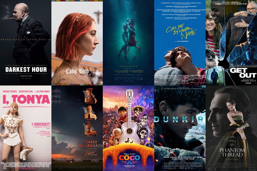 Best moments from 2018 oscar nominated films chinadaily for Oscar awards winning movies