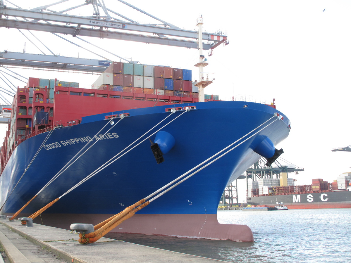 Container ship arrivals heralds new era in Chinese-European