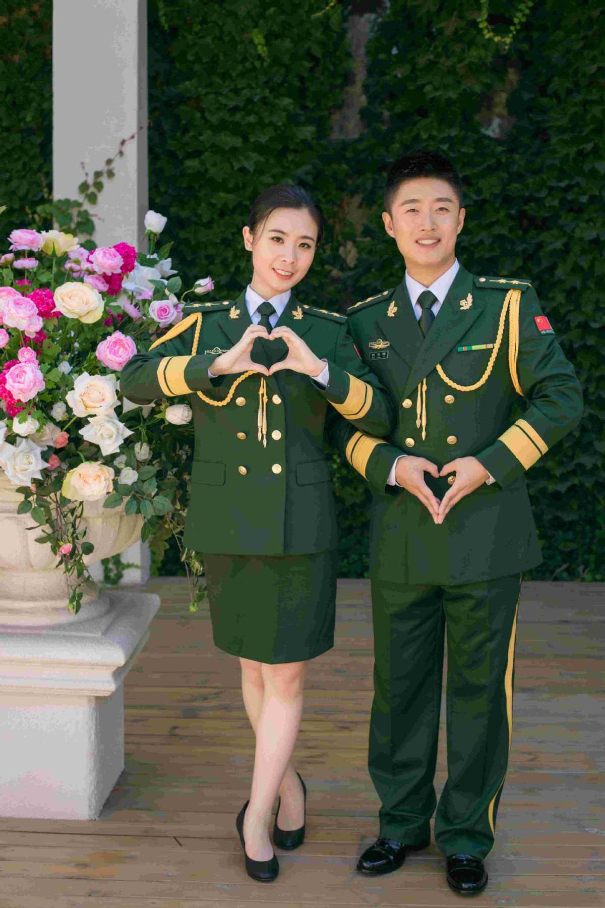 Wan Chunyu dan Zhang Jingjing