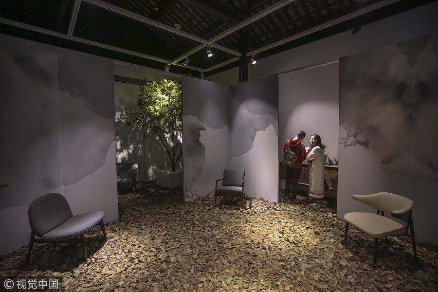 Design Shanghai Festival Converges Creative Ideas Chinadailycn Magnificent Interior Design Shanghai Creative
