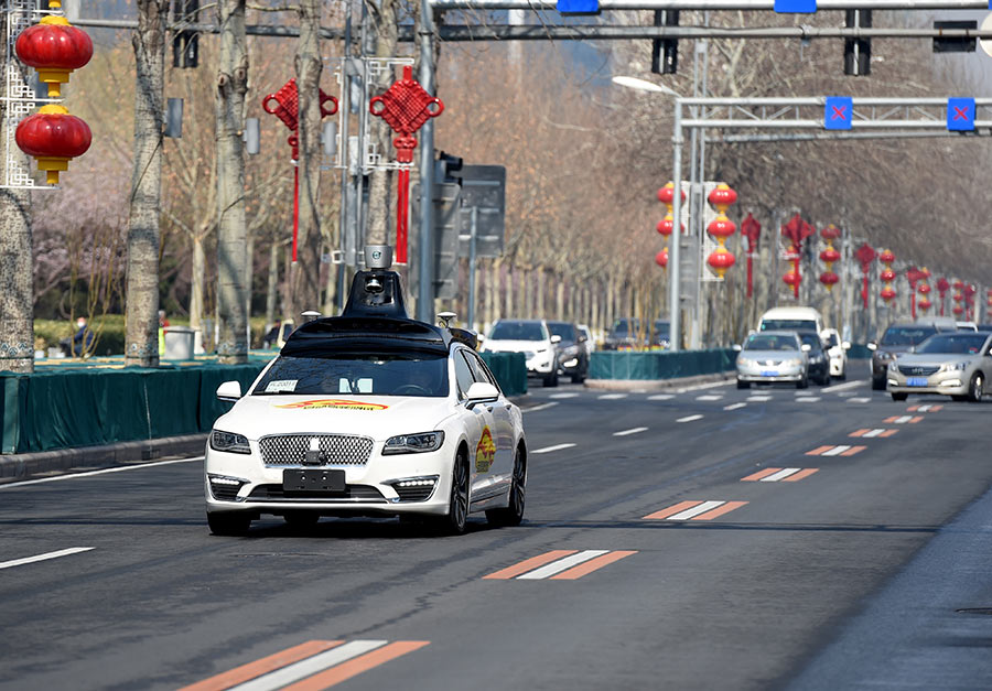 Baidu gets green light to test autonomous cars in Beijing