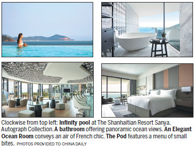 Autograph collection in sanya marks st anniversary travel