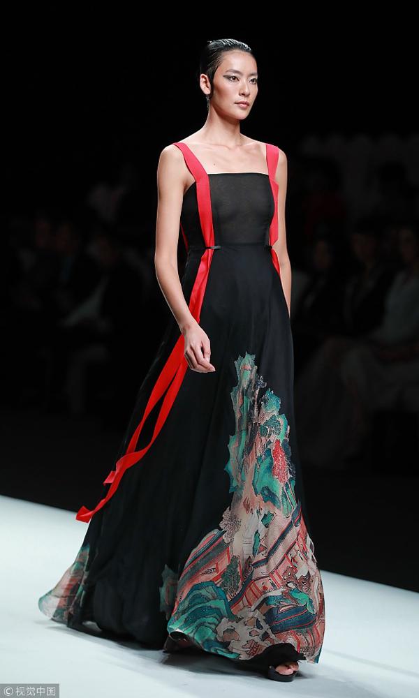 757f1b175 2018 China Fashion Week: David Sylvia - Chinadaily.com.cn