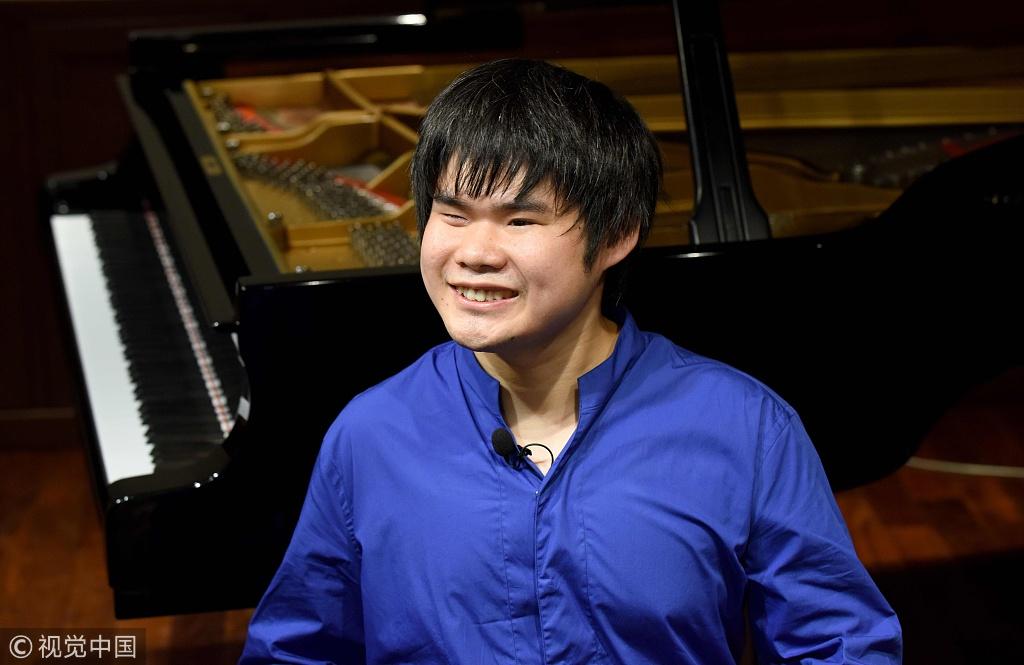 Japanese Blind Prodigy Gets Joy In Music World