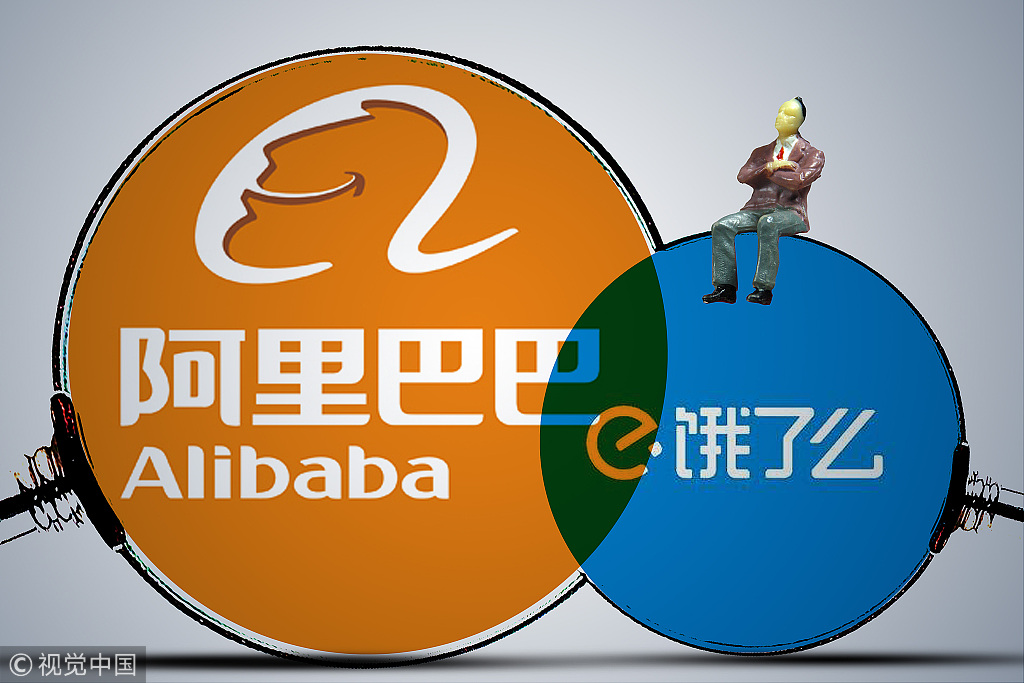 Alibaba, Tencent take their rivalry to online food delivery
