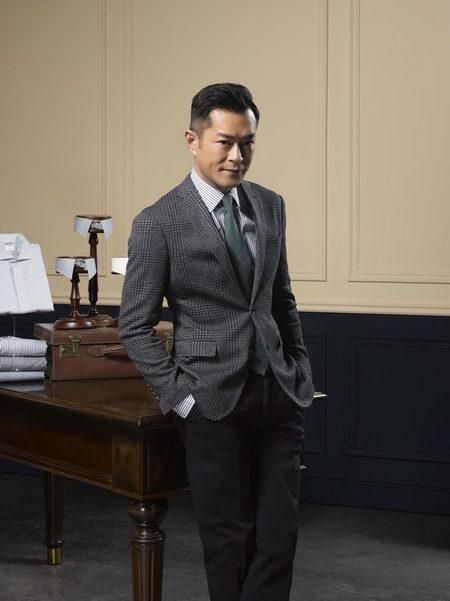 美国男装品牌选择港星古天乐作为品牌大使