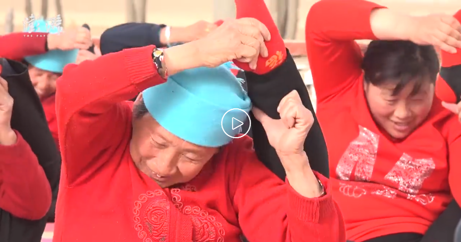 Yoga Lifts Spirits Builds Up Health Of Seniors In An Impoverished Village Chinadaily Com Cn