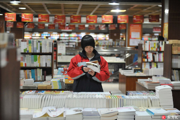 Survey Finds Reading Increasingly Popular For Young Chinese