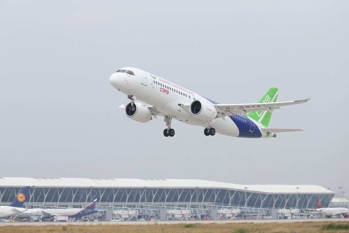 China embraces major progress in civil aircraft - Chinadaily com cn