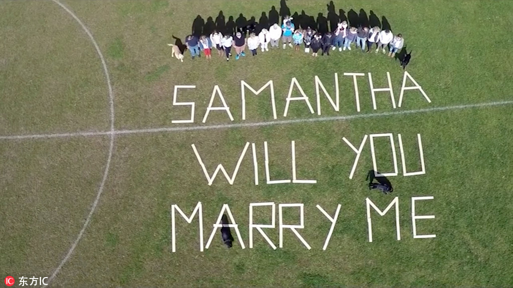Romantic Ways To Propose On 520 Chinadaily