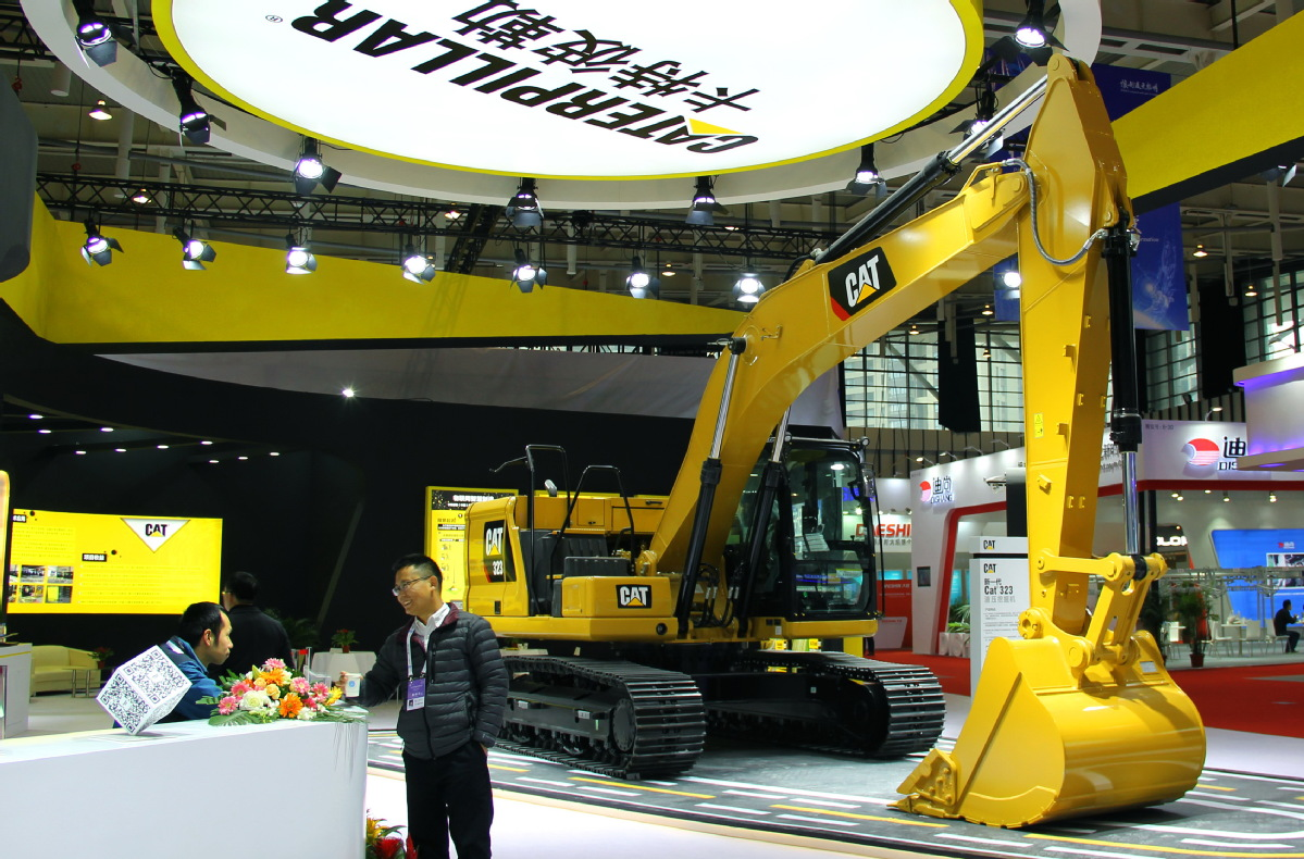 Exhibition Booth Manufacturer China : Caterpillar expects sustainable growth in chinese market