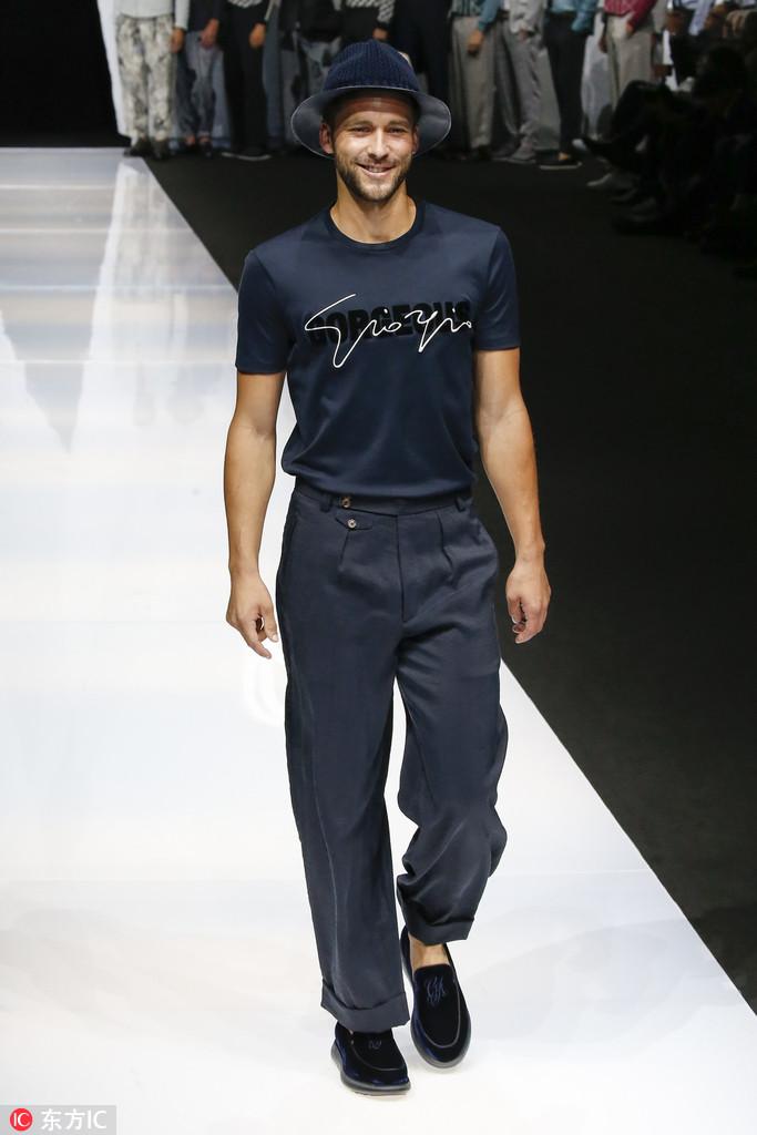 38f74ea1b66 2019 Milan Men s Fashion Week  Giorgio Armani 251 - Chinadaily.com.cn