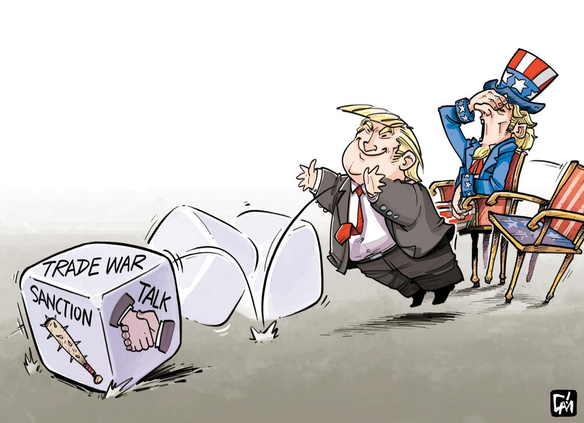 Image result for trump trade cartoon