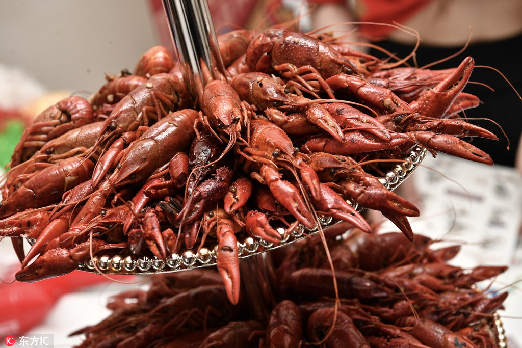 Crayfish capture Russia s heart during World Cup
