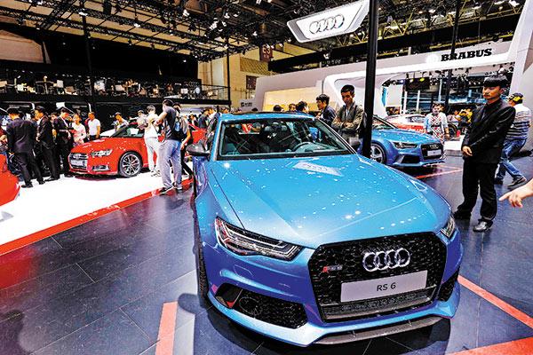 Audi Acquires Stake In SAIC Volkswagen JV Chinadailycomcn - Volkswagen audi