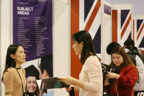 UK visa applications easier for Chinese students