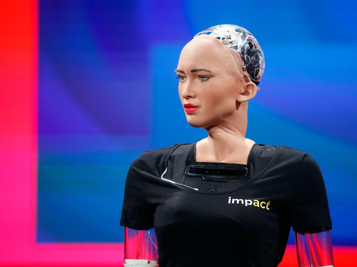 штучний інтелект Софія