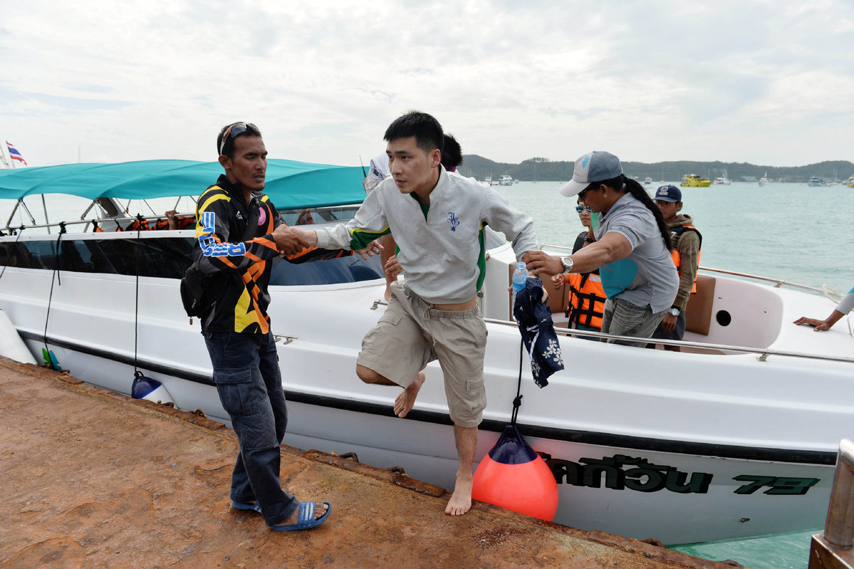 Death toll in Thailand climbs to 40, rescue work continues