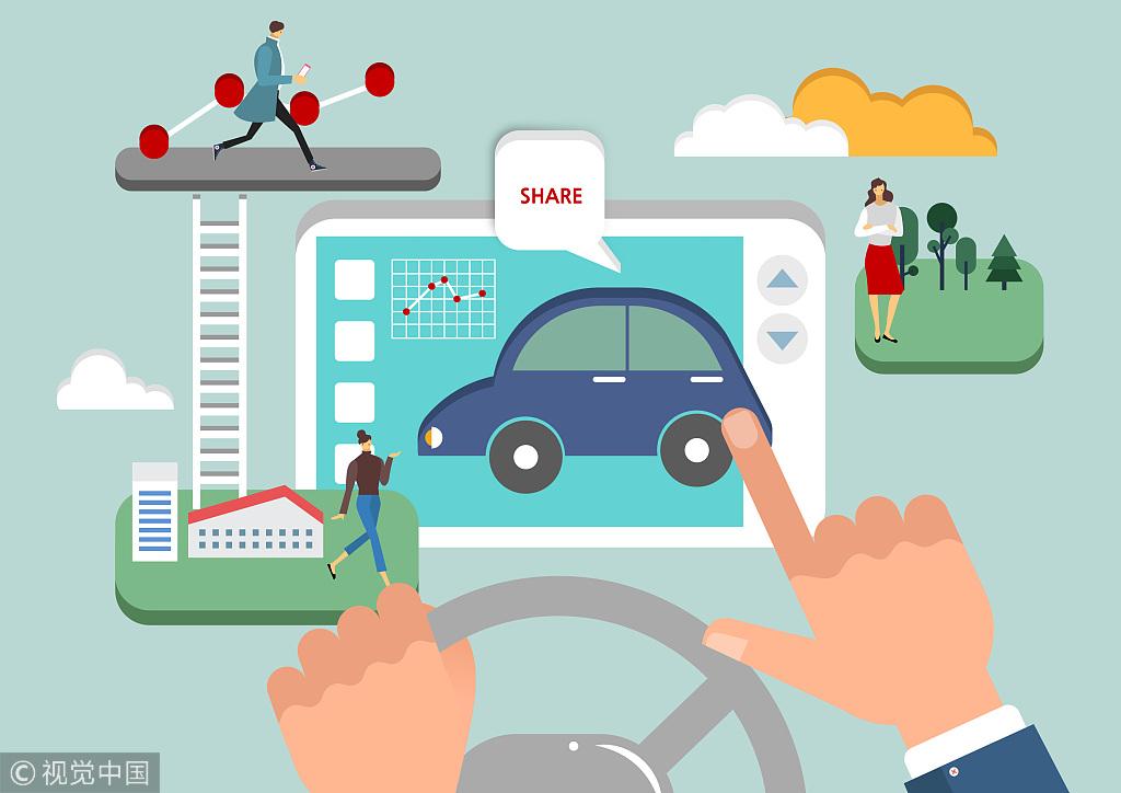 Auto Firms Rev Up Ride Sharing Sector Usa Chinadaily Com Cn