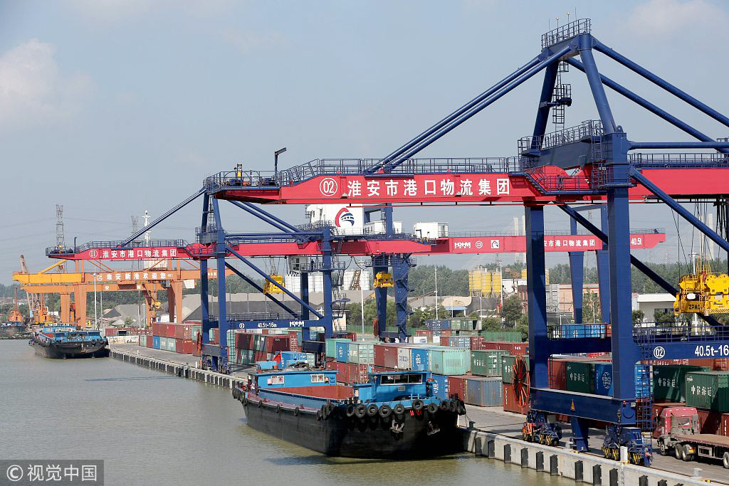 China: Transport sector records boom in freight, investment in H1