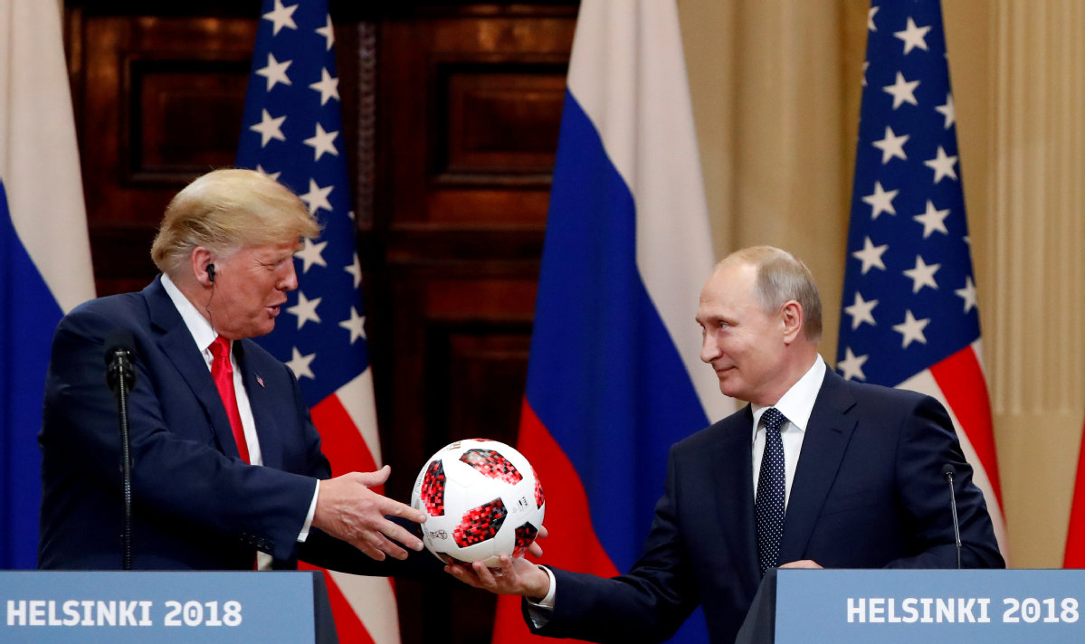 President Trump Proposes Two Future Summit Meetings with President Putin