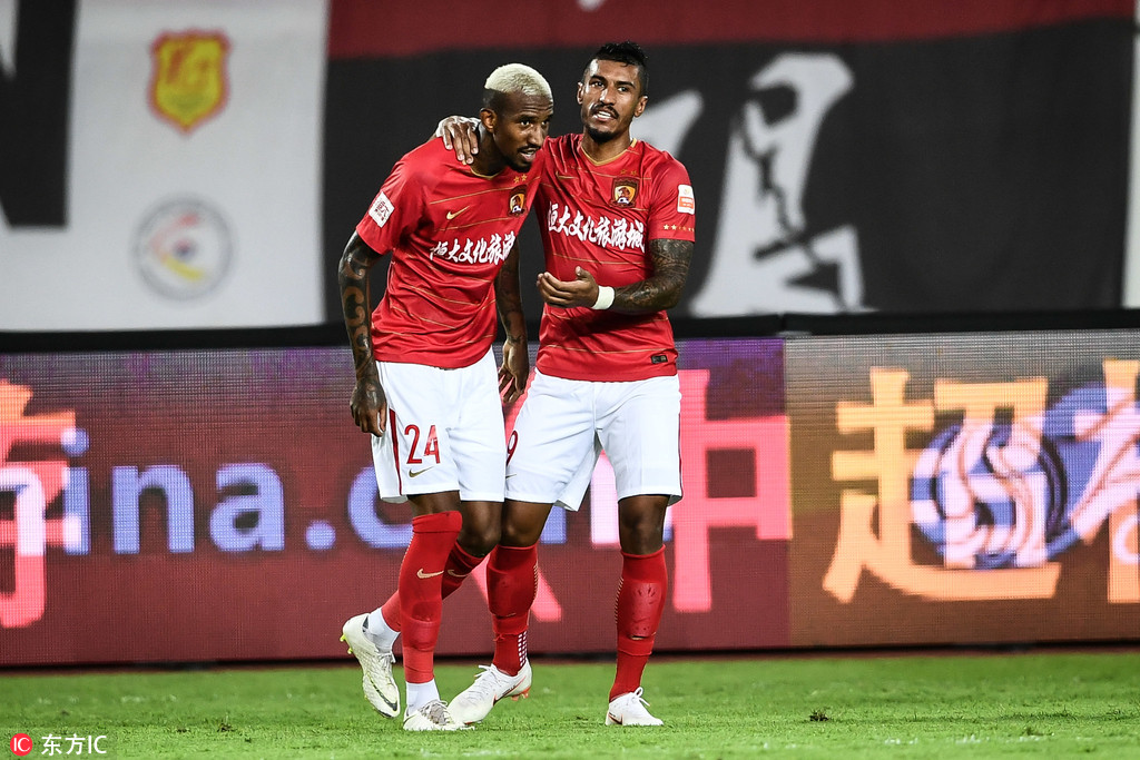 Image result for paulinho guangzhou evergrande