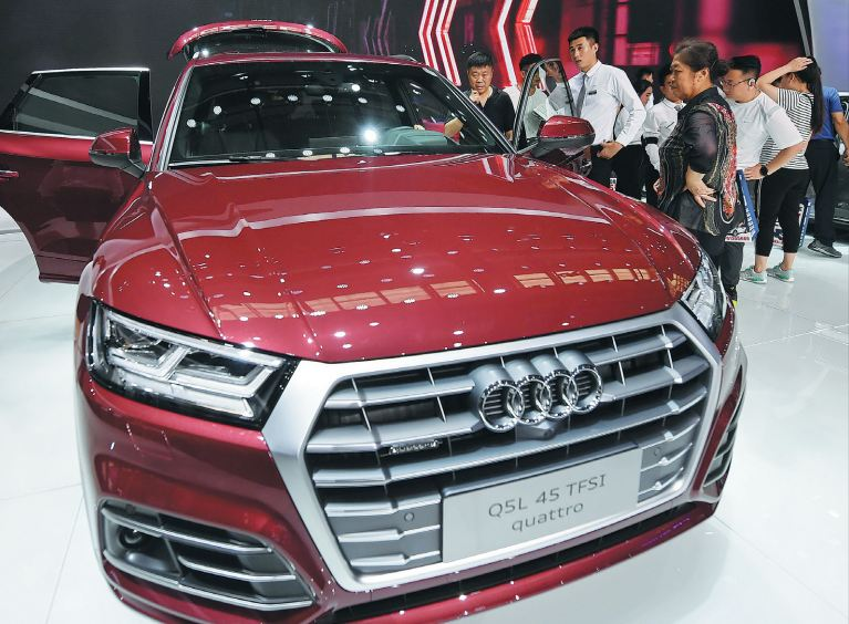 SAIC Volkswagen To Become Second JV To Produce Audi Cars - All the audi cars