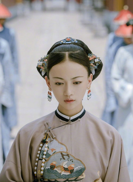 A still from the costume drama Story of Yanxi Palace. [Photo/Mtime]
