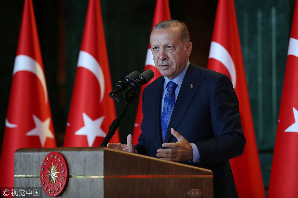 Erdogan Wants Boycott of US Electronics