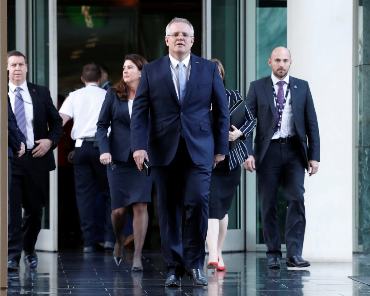 Treasurer Scott Morrison to become Australia's next prime minister