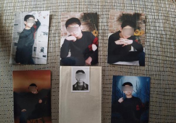 Foto-foto Lin Peng semasa hidup.