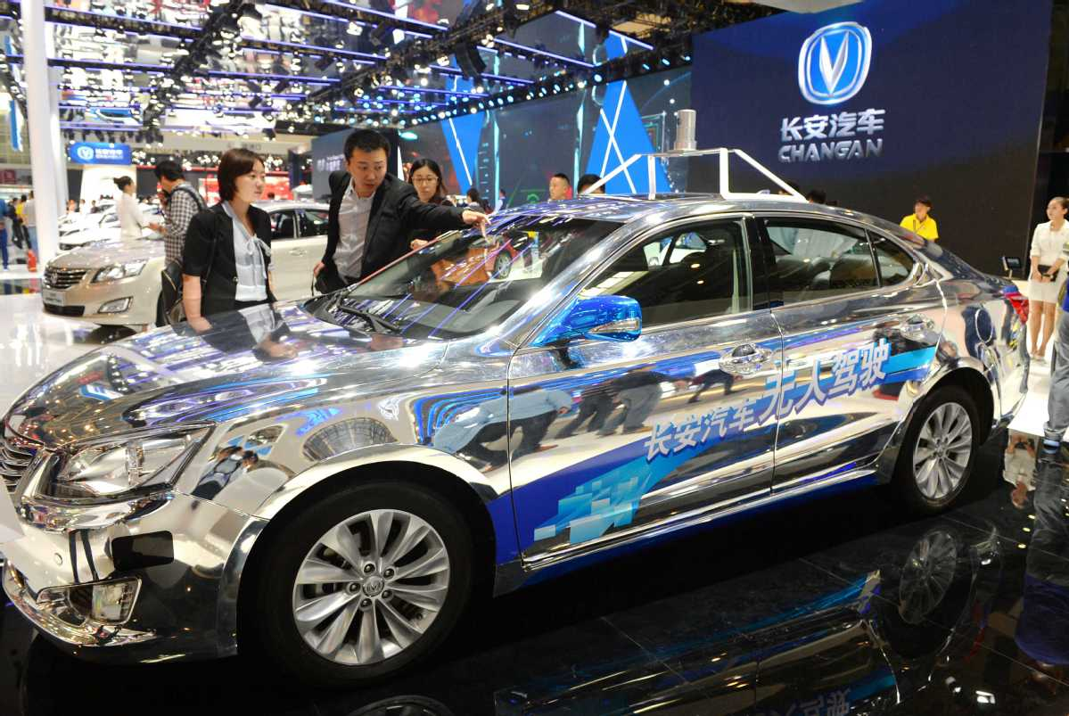 chinese automakers charge to develop smart, connected cars