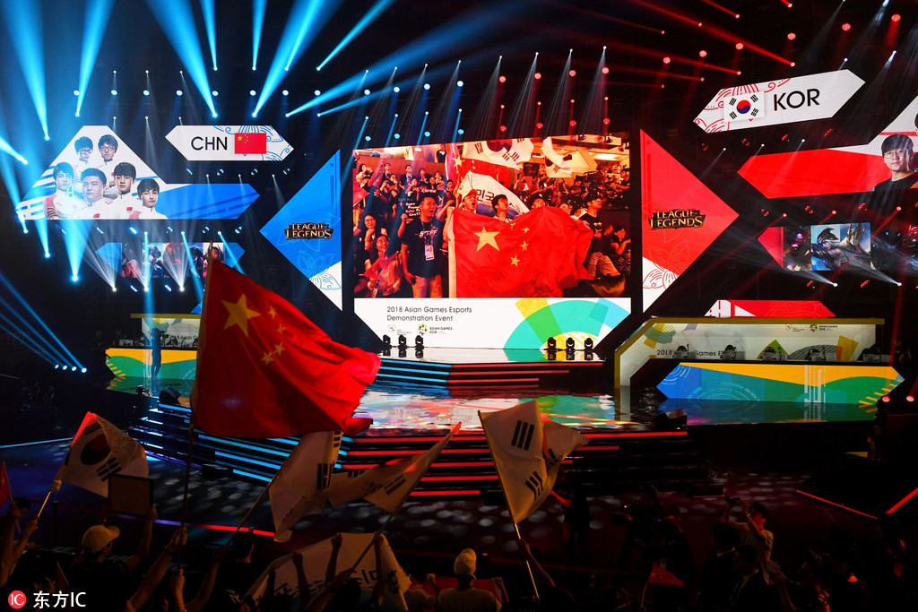 China's League of Legends players win championship at Asian