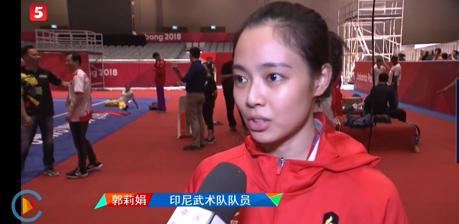 Indonesian Wushu champion thanks Chinese coach - Chinadaily