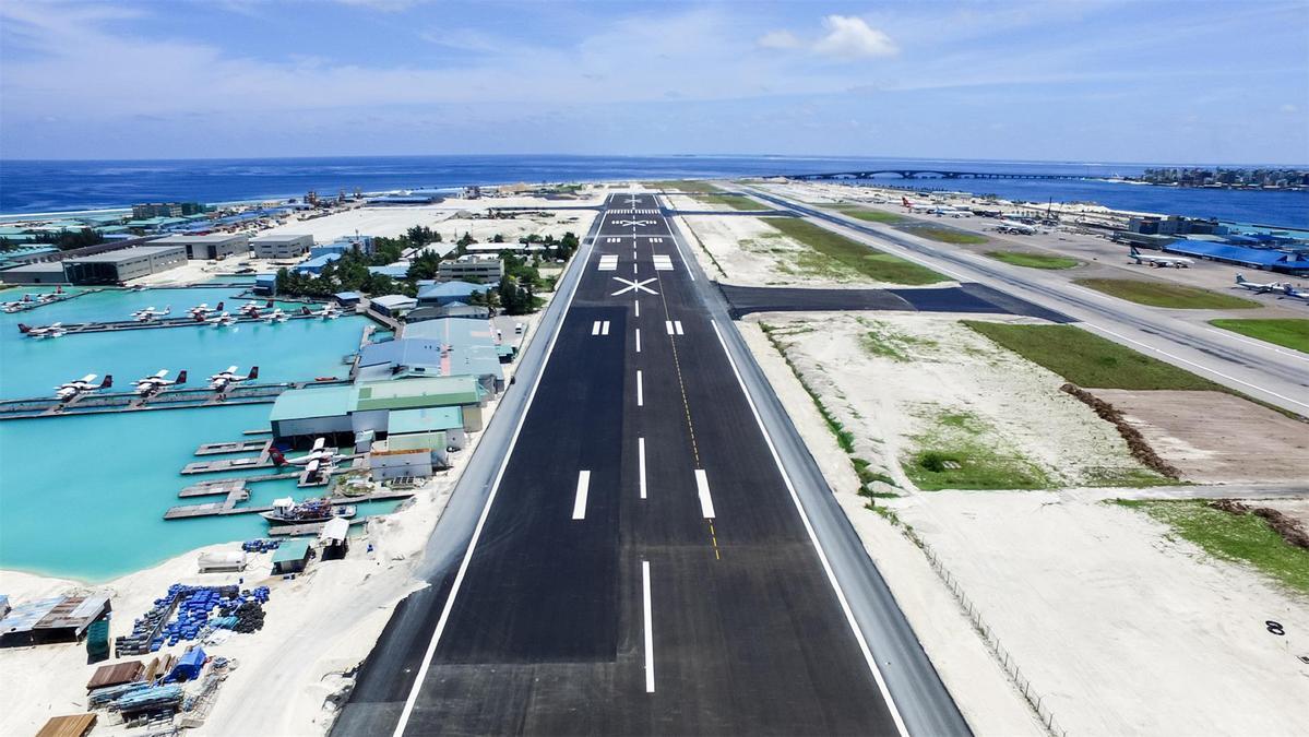 velana international airport opens new runway chinadaily com cn