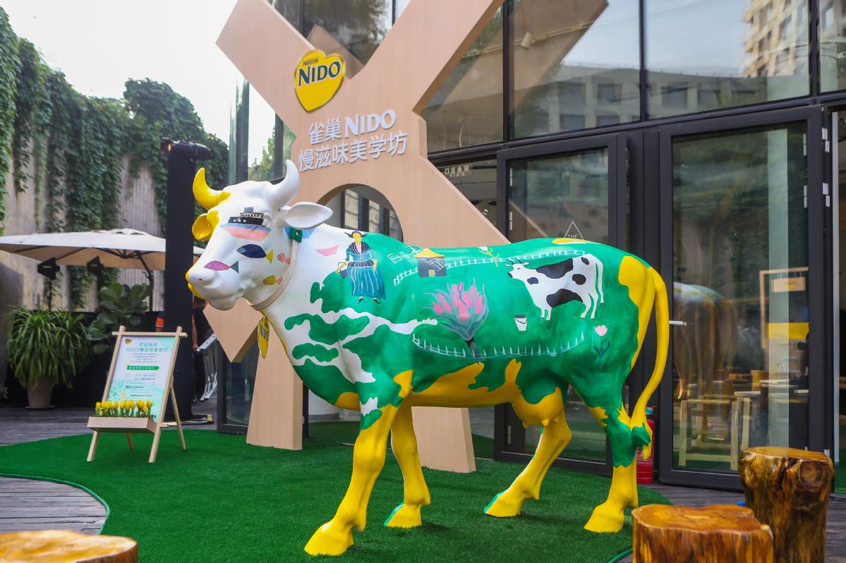 Nestlé launches organic milk powder product NIDO - Chinadaily com cn