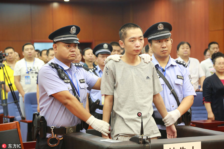 Man executed for killing nine students - Chinadaily com cn