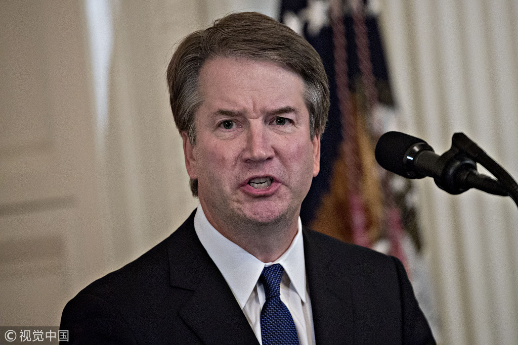 Senate Judiciary Committee advances Kavanaugh -- with a catch