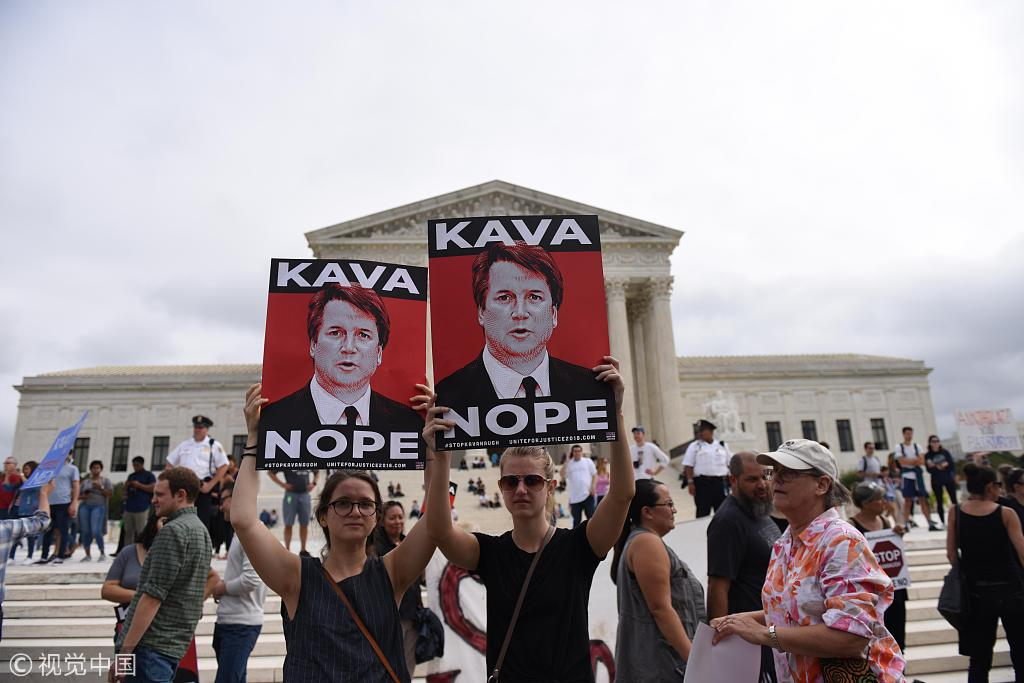 Allegations against Kavanaugh 'hoax' that was 'set up by the Democrats'