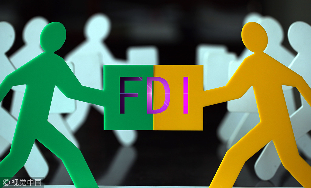Chinese financial institutions report net FDI inflo